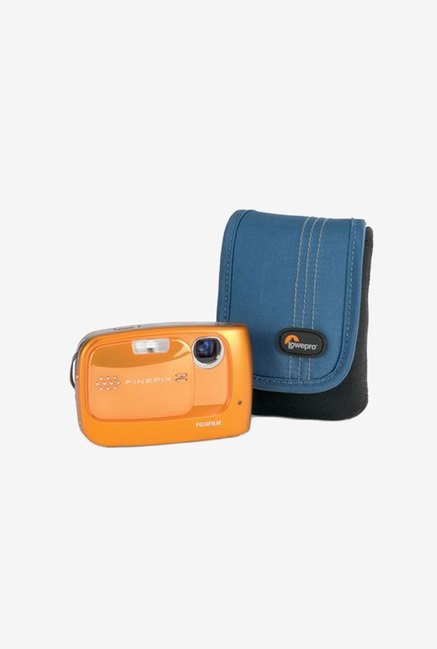 LowePro Dublin 10 Slim Profile Pouches (Black/Arctic Blue)