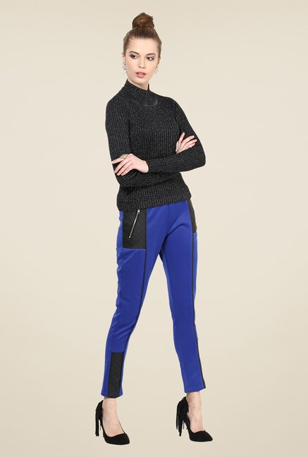 Yepme Blue Nicola Party Jeggings