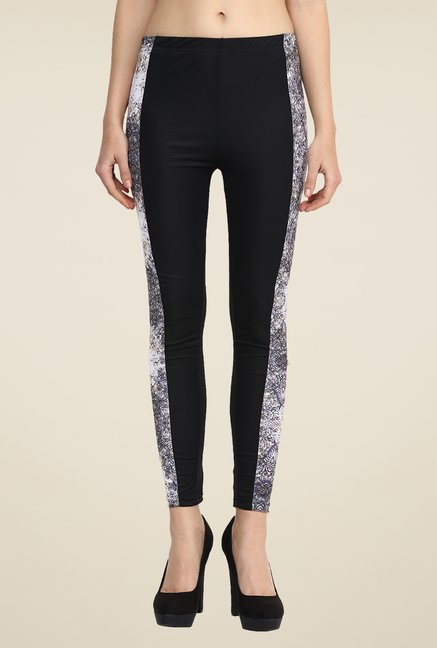Yepme Multicolor Jackui Party Leggings