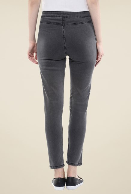 Yepme Grey Stefanie Denim Jeggings