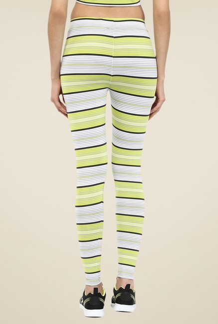 Yepme Multicolor Sabrina Striped Leggings