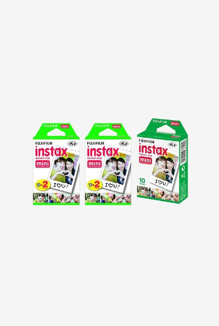 Fujifilm 5 Pack Instax Mini Instant Film Bundle