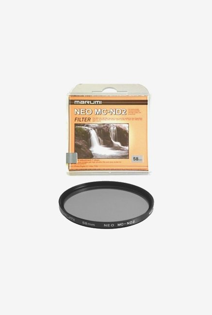 Marumi 58mm Nd2 ND 2 Neutral Density Filter Japan (Black)