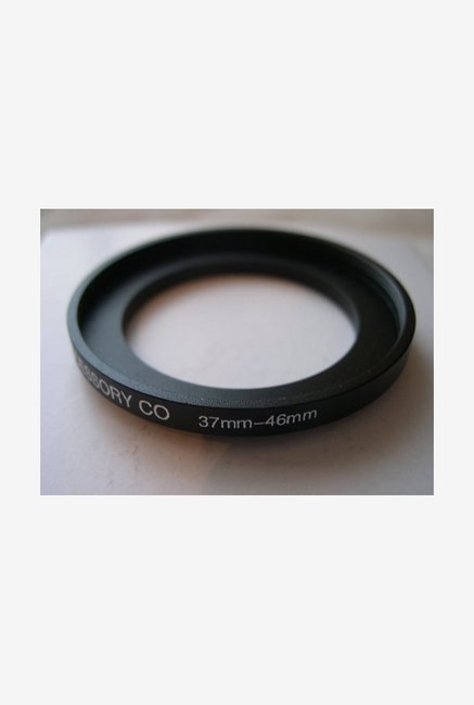 HeavyStar Dedicated Metal Step-Up Ring 37mm to 46mm (Black)