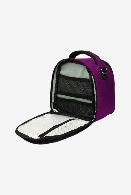 Vangoddy Laurel Travel Compact Camera Bag (Purple)