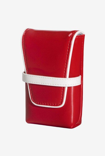 Fujifilm Flip Compact Camera Case (Retro Red)