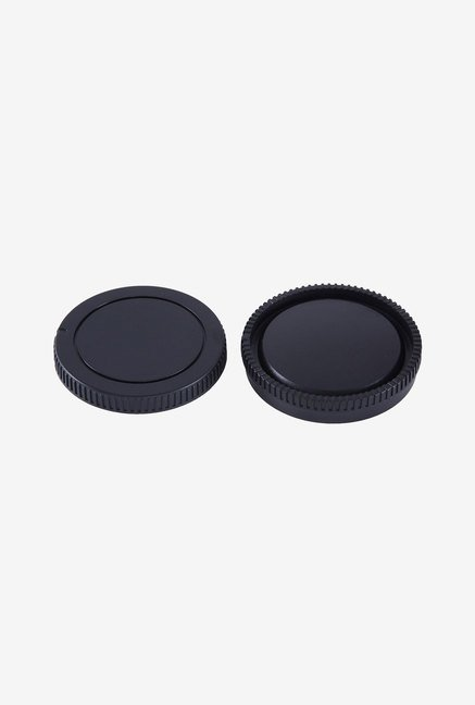 Movo Photo Lens Mount Cap and Body Cap for Sony NEX E Camera