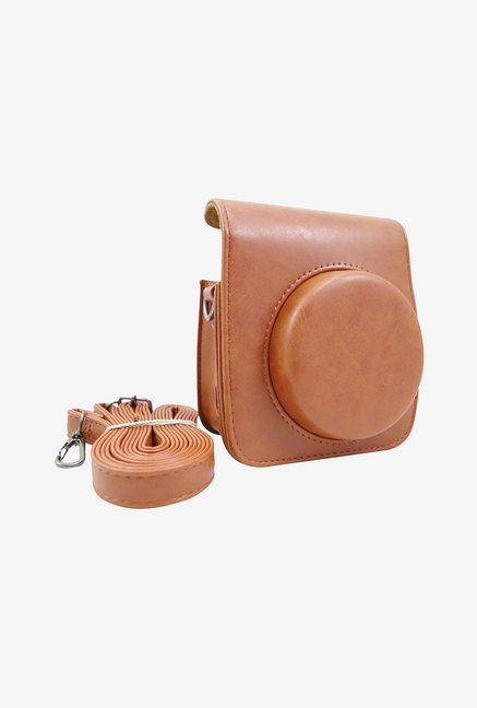 Katia Leather Case for Fuji Fujifilm Instax Mini 90 (Brown)