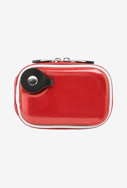 Candy Glossy TPU Semi Hard Slim Camera Carrying Case (Red)