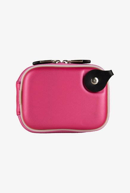 Vangoddy Nylon Thick Camera Case for Nikon Coolpix (Pink)