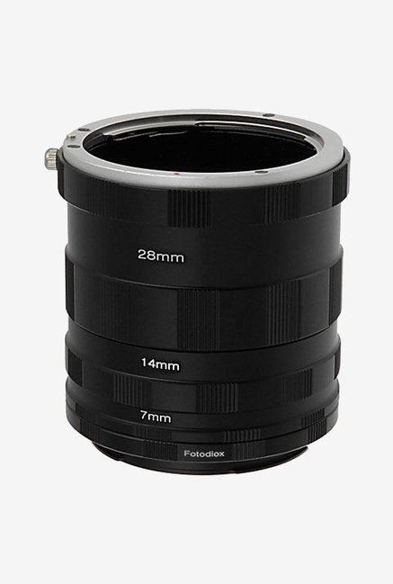 Fotodiox Canon EOS Macro Extension Tube Set (Black)