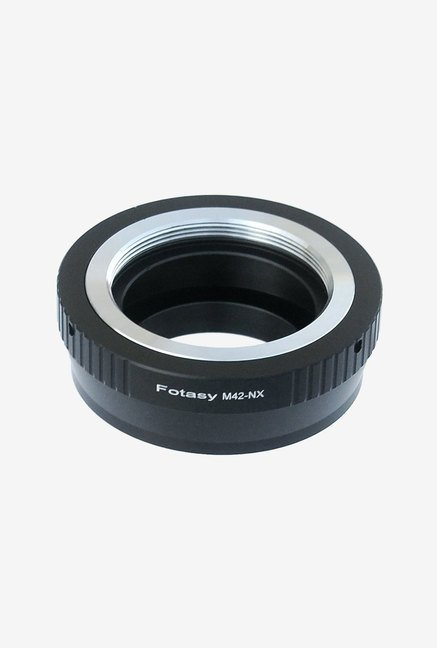 Fotasy Adjustable Lens Mirrorless Camera Adapter (Black) Image