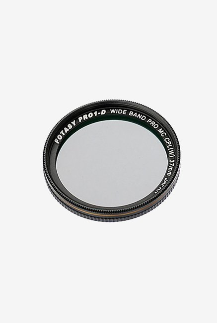 Fotasy Multi-Coated Camera Lens Polarizing Filter (Black)