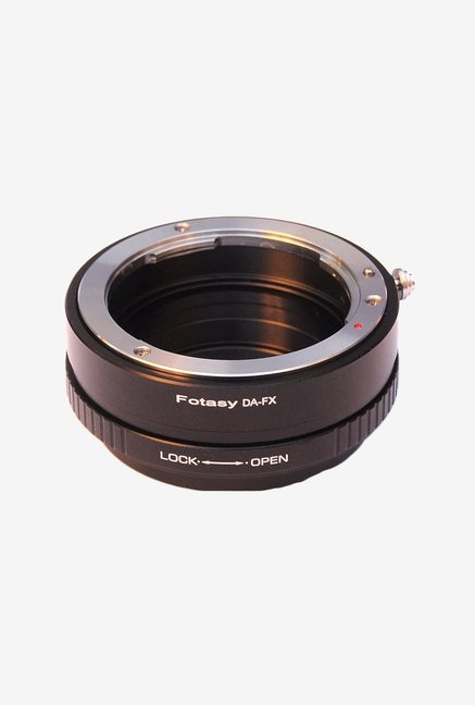Fotasy Pro Pentax Mount Lens to Fujifilm Adapter (Black)