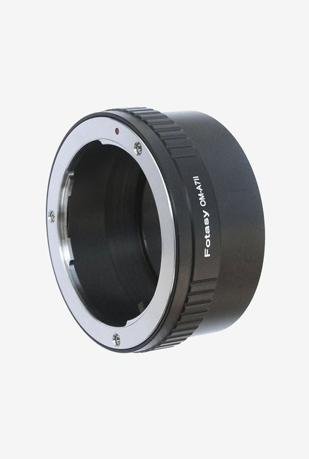 Fotasy A7OM Pro Olympus Lens to Sony Camera Adapter (Black)