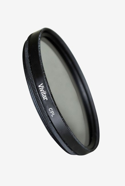 Vivitar 77mm Multi-Coated Camera Lens Filter (Black)