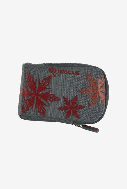 rooCASE Nylon Padded Case for Point and Shoot Camera (Grey)