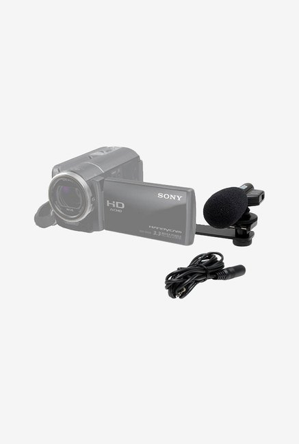 Vivitar Mini Zoom Camcorder Microphone (Black)