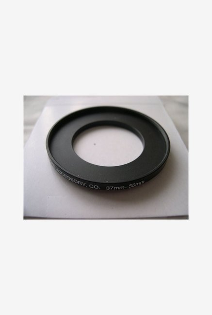 HeavyStar Dedicated Metal Step-Up Ring 37mm to 55mm (Black)