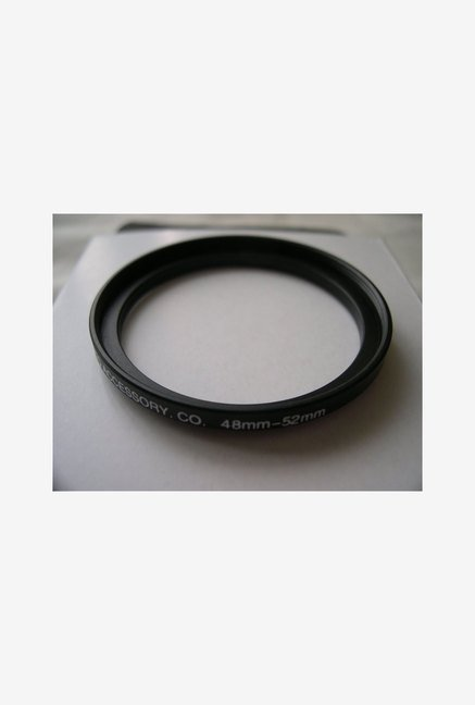 HeavyStar Dedicated Metal Step-Up Ring 48mm to 52mm (Black)