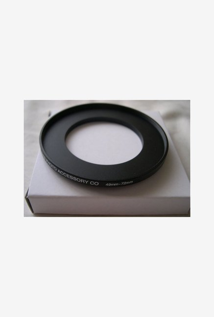 HeavyStar Dedicated Metal Step-Up Ring 49mm to 72mm (Black)