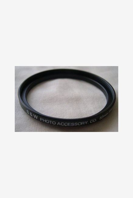 HeavyStar Dedicated Metal Step-Up Ring 52mm to 55mm (Black)
