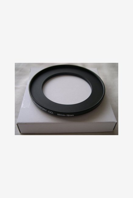 HeavyStar Dedicated Metal Step-Up Ring 52mm to 72mm (Black)