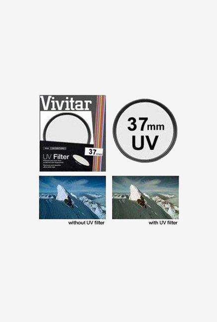 Vivitar Viv-Uv-37 Filter (Black)