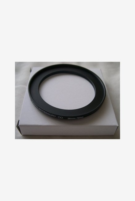 HeavyStar Dedicated Metal Step-Up Ring 58mm to 72mm (Black)