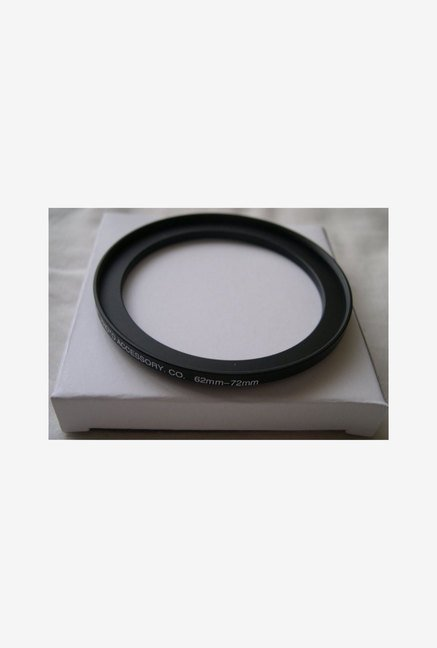 HeavyStar Dedicated Metal Step-Up Ring 62mm to 72mm (Black)