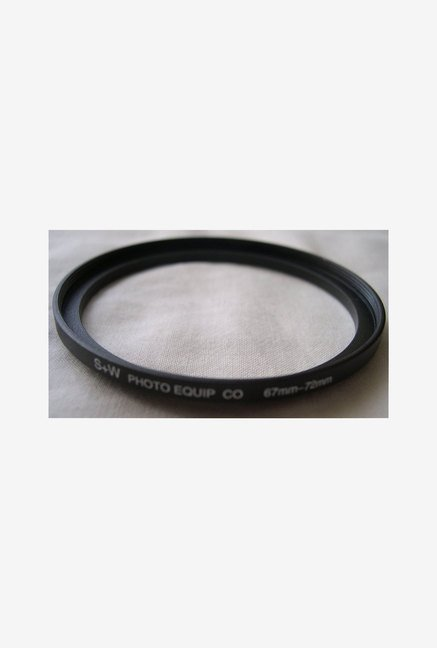 HeavyStar Dedicated Metal Step-Up Ring 67mm to 72mm (Black)