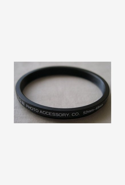 HeavyStar Dedicated Step-Down Ring 52mm to 49mm (Black)