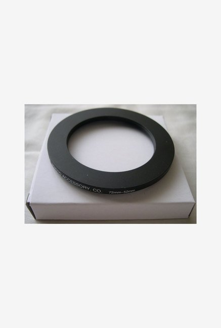 HeavyStar Dedicated Step-Down Ring 72mm to 52mm (Black)