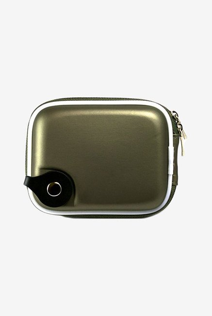 Vangoddy Eva Mini Hard Shell Camera Case (Metallic Gun)