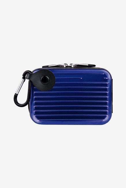 Pascal Camera Case With Removable Carabiner (Blue)