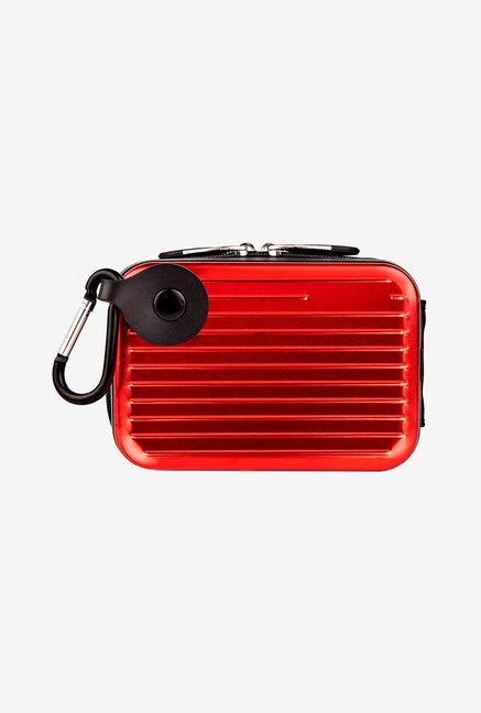 Pascal Camera Case With Removable Carabiner (Red)