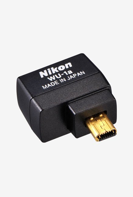 Nikon WU-1a Wireless Mobile Adapter (Black)