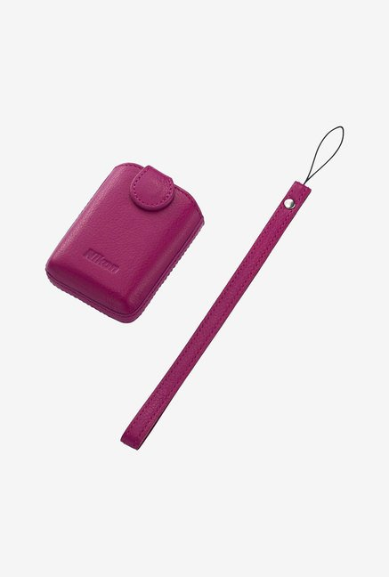 Nikon CS-CP4-1 Leather Case for the Coolpix S01 (Pink)