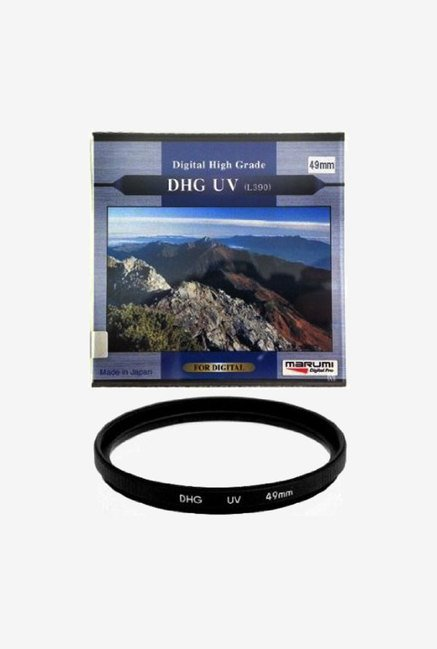 Marumi 52mm DHG Filter UV L390 Multi-Coated Lens (Black)
