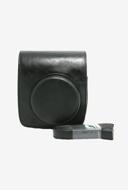 Nodartisan Vintga Pu Leather Fuji Mini Case For Fujifilm Instax Mini 90 Case Bag- Black