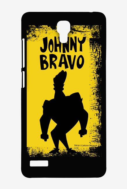 Johnny Bravo Yellow Grunge Case for Xiaomi Redmi Note 4G