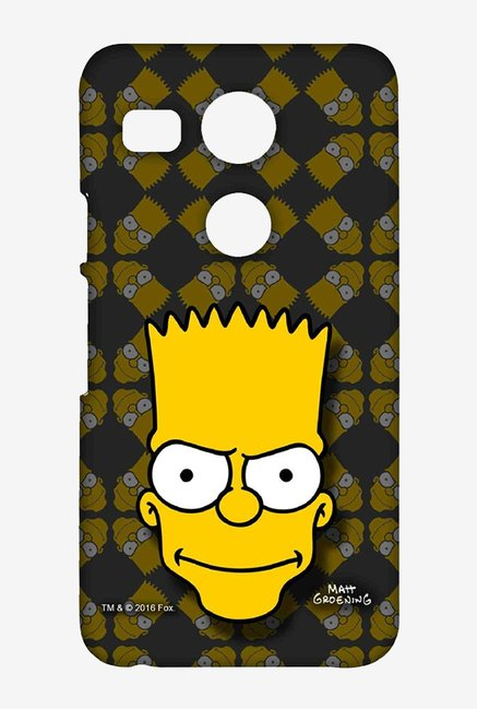 Simpsons Bartface Case for LG Nexus 5X