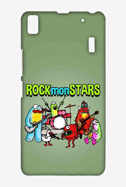 Kritzels Rockmonstars Case for Lenovo A7000