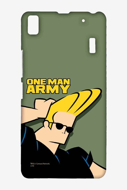 Johnny Bravo One Man Army Case for Lenovo A7000