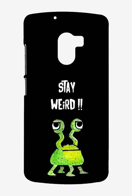 Kritzels Stay Weird Black Case for Lenovo K4 Note