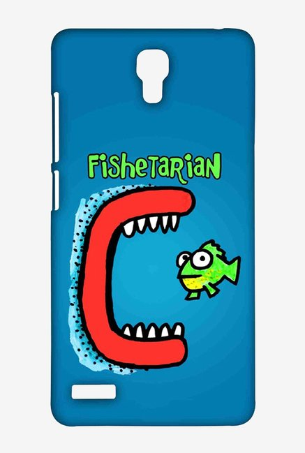 Kritzels Fishetarian Case for Xiaomi Redmi Note Prime