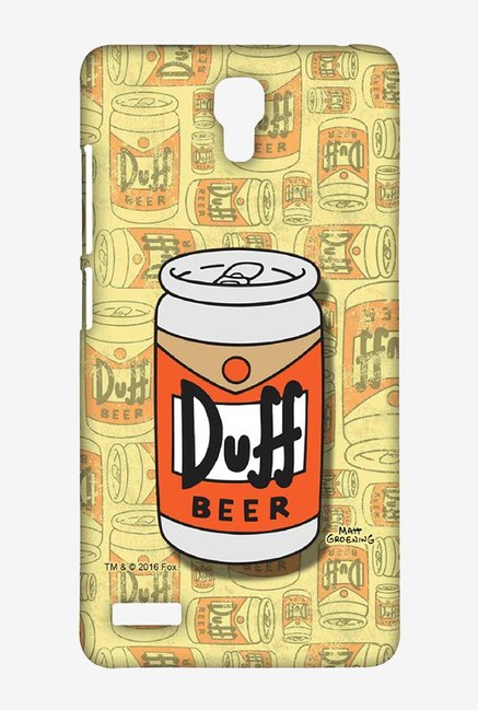 Simpsons Duff Beer Case for Xiaomi Redmi Note Prime