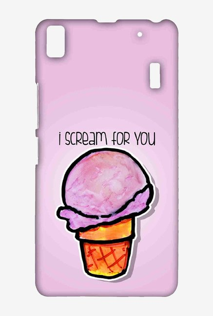 Kritzels I Scream For You Case for Lenovo A7000