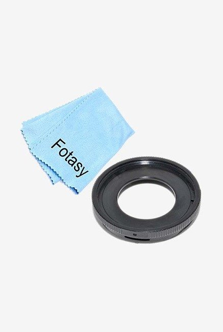 Fotasy FAT01 Lens Adapter AndCleaning Cloth (Black)