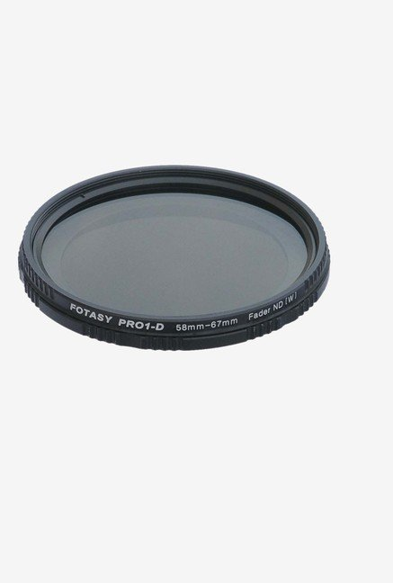 Fotasy FF58 Adjustable Fader Filter (Black)